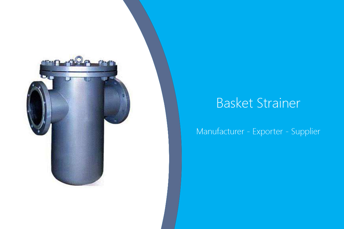 Basket Strainer Manufacturer India