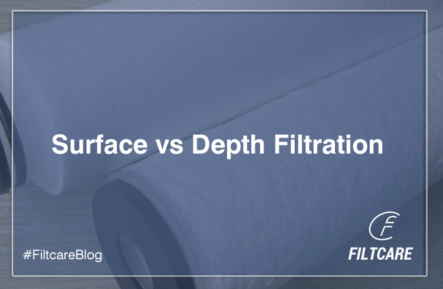 Surface vs Depth Filtration